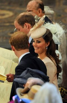 Kate Middleton - Arrivals at the 60th Anniversary Coronation Service