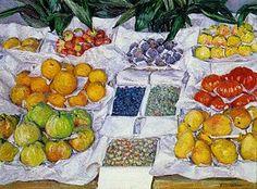 Gustave Caillebotte -  Fruits sur un étalage (1882)