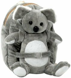 Tag Along Teddy Plush Koala Backpack, Small Animal Backpacks, Kids Backpacks, Tag Along, Lightweight Backpack, Backpack Reviews, Special Kids, Plush Animals, Stuffed Animals, Backpack Purse