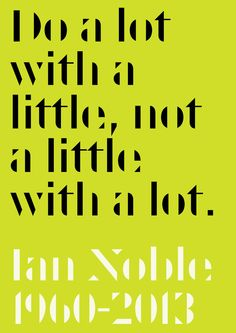 Taught me in my first year at uni.. Very wise man. RIP Ian Noble.
