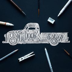 Work by goshawaf Follow our Twitter: @goodtypography