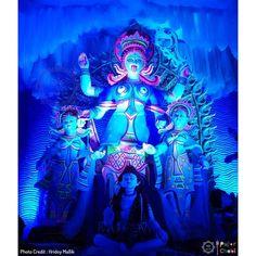 শ্রী শ্রী কালী পূজো⠀ পূজো পরিক্রমা ২০১৮⠀ লোকেশন Durga Kali, Kali Mata, Shiva Shakti, Kali Goddess, Smile, Instagram