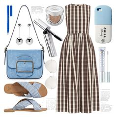 """""""- A Beat Of Blue -"""" by bugatti-veyron ❤ liked on Polyvore featuring MILK MAKEUP, Linda Farrow, Brock Collection, Tory Burch, Gap, Stila, J.W. Anderson, Bobbi Brown Cosmetics and Urban Decay"""