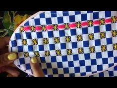 2- bordado español con cony - YouTube