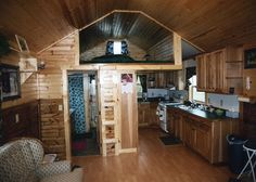 deluxe lofted barn cabin finished - Google Search