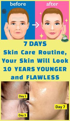 3 Days Skin Care Routine, Your Skin Will Look 10 Year Younger And Flawless – DOM… – Skincare Secrets – beauty skin care Skin Care Regimen, Skin Care Tips, Banana Facial, Combination Skin Care, Face Spray, Korean Skincare, Skin Problems, Facial Masks, Wellness