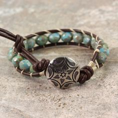 Hey, I found this really awesome Etsy listing at https://www.etsy.com/listing/189031350/western-bracelet-bohemian-jewelry-blue