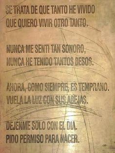 O poema de Neruda que sempre traz um nó pra minha garganta.