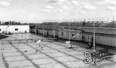 Old photo of Westcliff Pool c1955, Southend-On-Sea