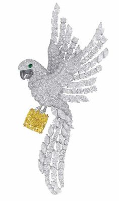 Beautiful bird pin by Graff Diamonds