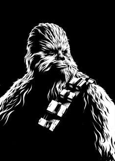 Star Wars: The Force Awakens black series packaging Ilustrations, Gregory Titus Star Wars Fan Art, Star Wars Stencil, Stencil Art, Black And White Comics, Scratch Art, Star Wars Images, Star Wars Wallpaper, Star Wars Poster, Black Series