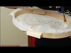 How to Silkscreen a T-Shirt : Smoothing Excess Glue for Silkscreening T-...