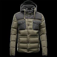 Leblond Nylon Down Jacket by Moncler    #mens wear #style #winter