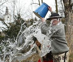 Smingus-dyngus water ritual - second day of the Easter Holidays.
