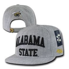 Asu #hornets #alabama #state university ncaa flat bill snapback baseball cap hat,  View more on the LINK: 	http://www.zeppy.io/product/gb/2/231824144739/