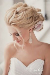 Bridal Hair and make up by ELSTILE (elstile.ru, elstile.com) Bride, bridal hair updo