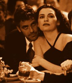 Doug and Carol (George Clooney and Julianna Margulies), ER