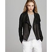 Vince Jacket - Rustic Linen and Leather