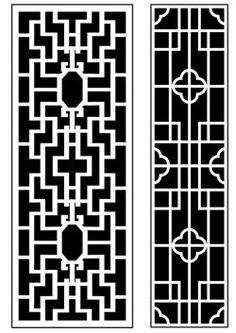 Dercor panel 62 – Download Free Vector Stair Railing Kits, Art File, Autocad, Vector File, Free Design, Illustration, Pattern, Black, Black People