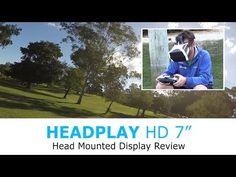 """Headplay HD 7"""" FPV Headset Review - YouTube"""
