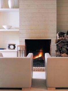 Gas Fireplace Modern Design