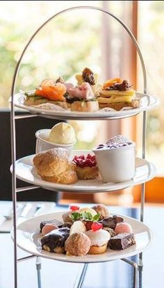 7) Whilst in #Penzance make sure you pop over to The Bay #Restaurant for #afternoontea!  Panorama Guest House, Newlyn, Penzance, Cornwall, UK, England. #UK #Cornwall #Holiday #Travel
