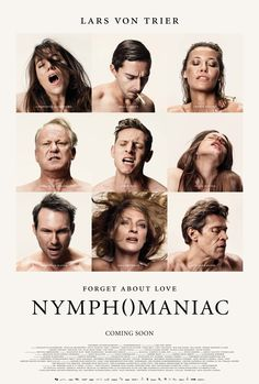 All characters Poster #Nymphomaniac by #larsvontrier