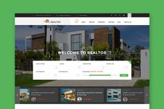 Realtor - Real Estate Website HTML Template Html And Css Templates, Html Website Templates, Html Css, Template Site, Ui Kit, Web Design, Design Ideas, Real Estate Templates, Web Themes