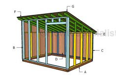 This step by step woodworking project is about free goat shed plans. This is PART 2 of the goat shed project where I show you how to build the lean to roof for the goat shelter. Sheep Shelter, Goat Shelter, Shed Building Plans, Shed Plans, Barn Plans, Building Homes, Building Ideas, House Plans, Goat Shed