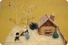 Зимняя сказка - поделка в детский сад !