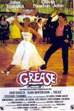 Grease olivia newtonjohn and john travolta