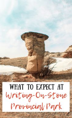 This must-read Writing-On-Stone Provincial Park travel guide will tell you when to go, where to stay, how to get there, and the best activities! Road Trip Playlist, Alberta Travel, Canadian Prairies, Road Trip Packing, Badlands National Park, Lost City, Canada Travel, Travel Guide, Places To Go