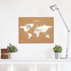 Carte du monde en liège à partir de 29,90€✓Acheter une carte du monde ✓Livraison de votre Woody Map en 24-48h ✓Entrez et achetez !