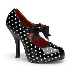 Sapatos Scarpin salto alto PINUP RETRO