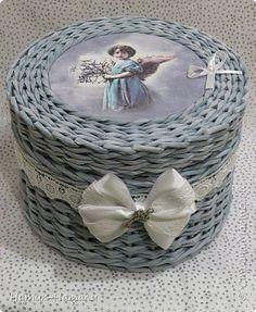Поделка изделие Плетение За два месяца фото очень много   Трубочки бумажные фото 1