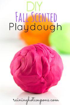 Best Ever Homemade Play Dough Ideas , DIY Fall Scented Playdough