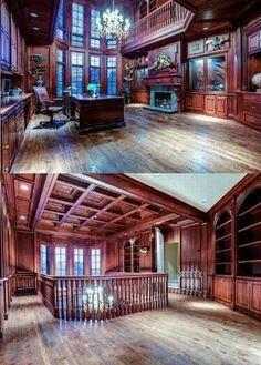 Two-Story Home Office | Fab two story home office~