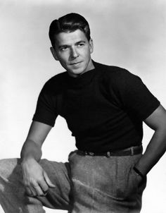 Ronald Reagan Young and Handsome Hollywood Poster Art Photo Artwork or Ronald Reagan Movies, Ronald Reagan Quotes, Hollywood Poster, Old Hollywood, Jack Nicholson The Shining, Nancy Reagan, Yvonne De Carlo, Handsome Male Models, Men Are Men