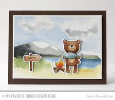 Peppermint Patty's Papercraft: happy | My Favorite Things Warm and Fuzzy Friends Card Kit Reveal Day 1