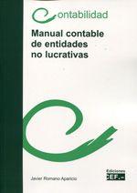 Manual contable de entidades no lucrativas / autor, Javier Romano Aparicio (2013)