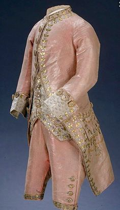 Traje de hombre Siglo XVIII