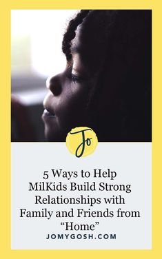 """5 Ways to Help MilKids Build Strong Relationships with Family and Friends from """"Home"""" Distance Relationships, Marriage Relationship, Marriage Advice, Building For Kids, Military Spouse, Close Friends, Aunts, Significant Other, Long Distance"""