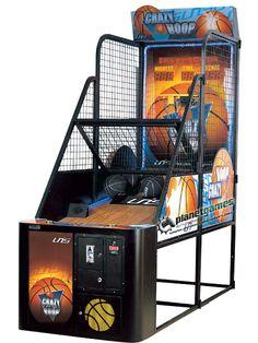 Crazy Hoop Basket Oyun Makinesi - Planet Games