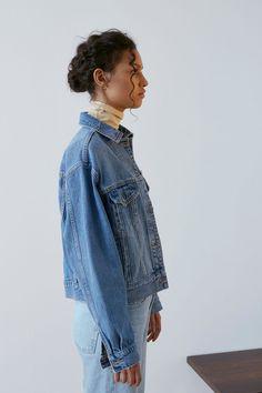 MOTO Oversized Denim Jacket - Jackets & Coats - Clothing - Topshop Europe