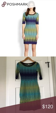 M Missoni knot dress Love all the colors of M Missoni. This kit dress is missing the lining therefore I'm not sure if it's a size 40 or a 38. I'm between in the M Missoni. M by Missoni Dresses