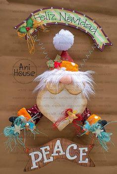 Christmas Fabric, Christmas Crafts, Christmas Bulbs, Xmas, Fabric Decor, Fun Crafts, Santa, Halloween, Holiday Decor