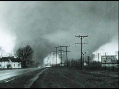 """ELKHART COUNTY, Indiana, April 11, 1965, four F4 tornadoes (3 arguably F5s). The Palm Sunday 1965 tornado outbreak remains one of the most violent. 47 twisters--including 17 F4s--hit the Midwest (271 fatalities), but Indiana (138 deaths) and this county really bore the brunt. The F4 """"double-tornado,"""" photographed famously by Paul Huffman, swept away a trailer park near Dunlap. The outbreak led to improved warning methods and a better understanding of suction vortices in tornadoes…"""