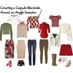 How to Create a Capsule Wardrobe Around a Patterned and Coloured Garment