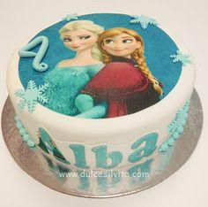 Dulce Silvita: Tarta Frozen para Alba