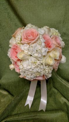 Bridal bouquet, September 2015